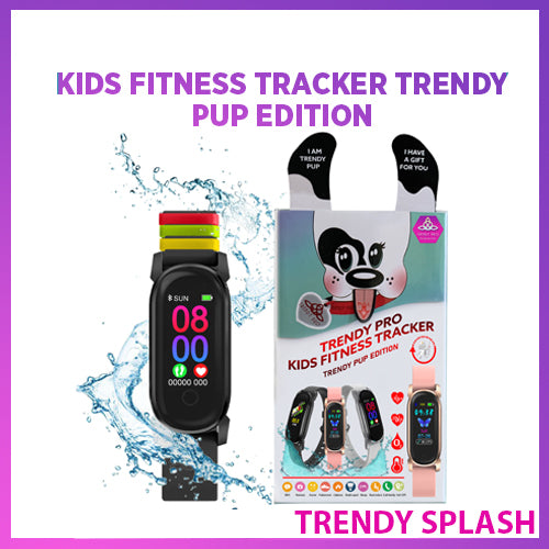 TRENDY PUP KIDS FITNESS TRACKER <Trendy Pup Splash>