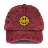 Smiley Vintage Dad Hat