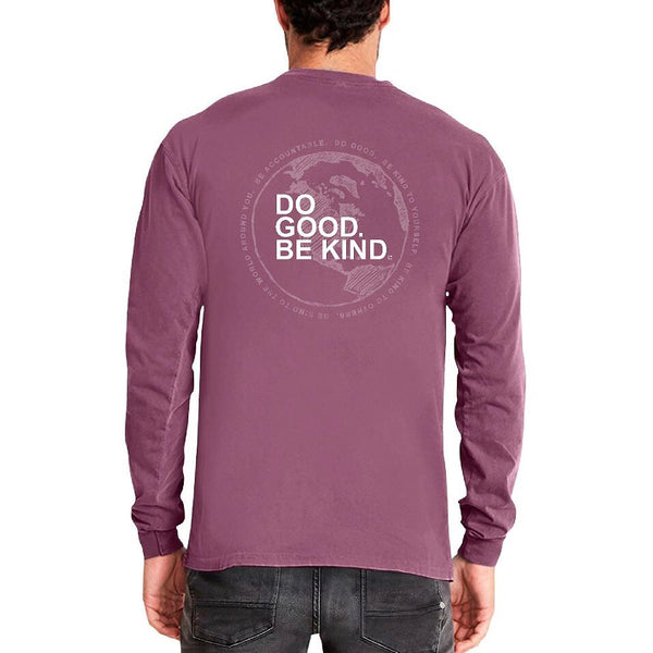 Plum Long Sleeve DGBK Shirt