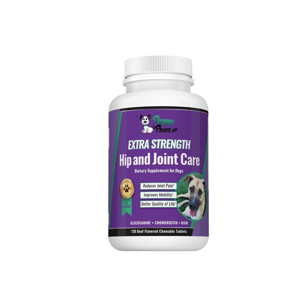 Reduce Pain and Improve Mobility with our Hip & Joint Care Supplement 120 Count