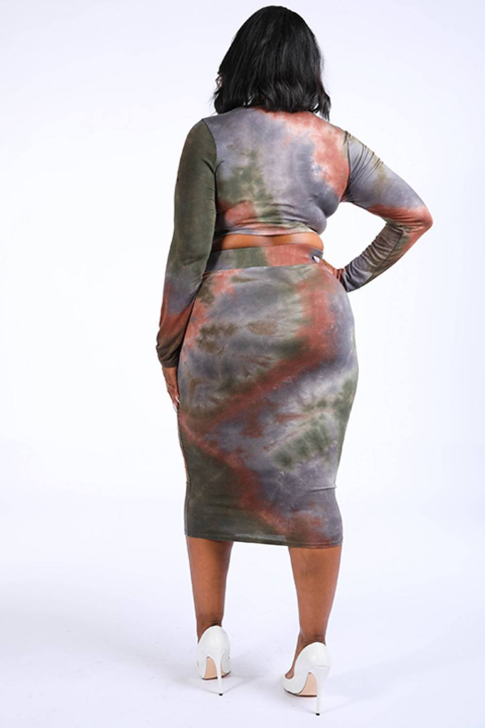 Tie And Dye Skirt Set - Allures From Zenii