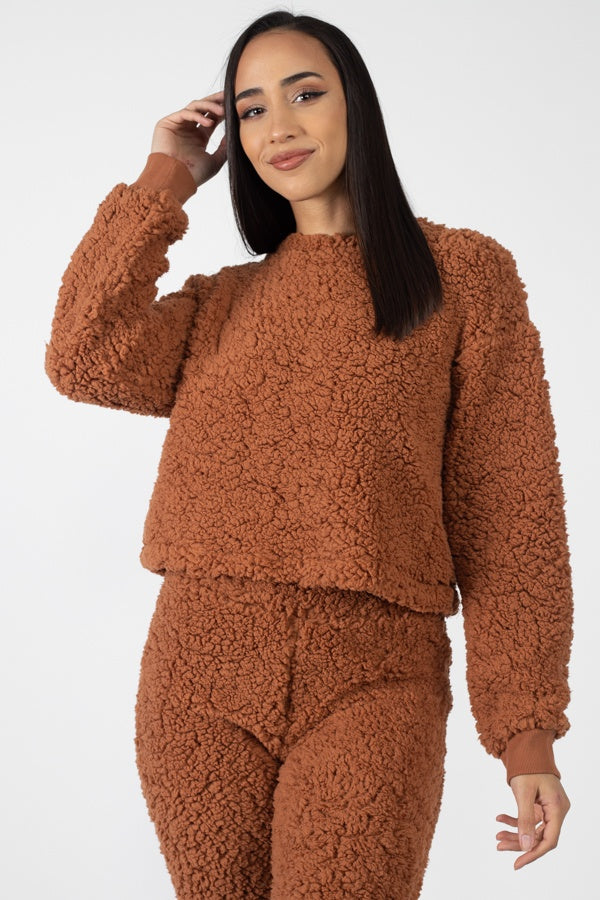 Faux Fur Crop Set - Allures From Zenii