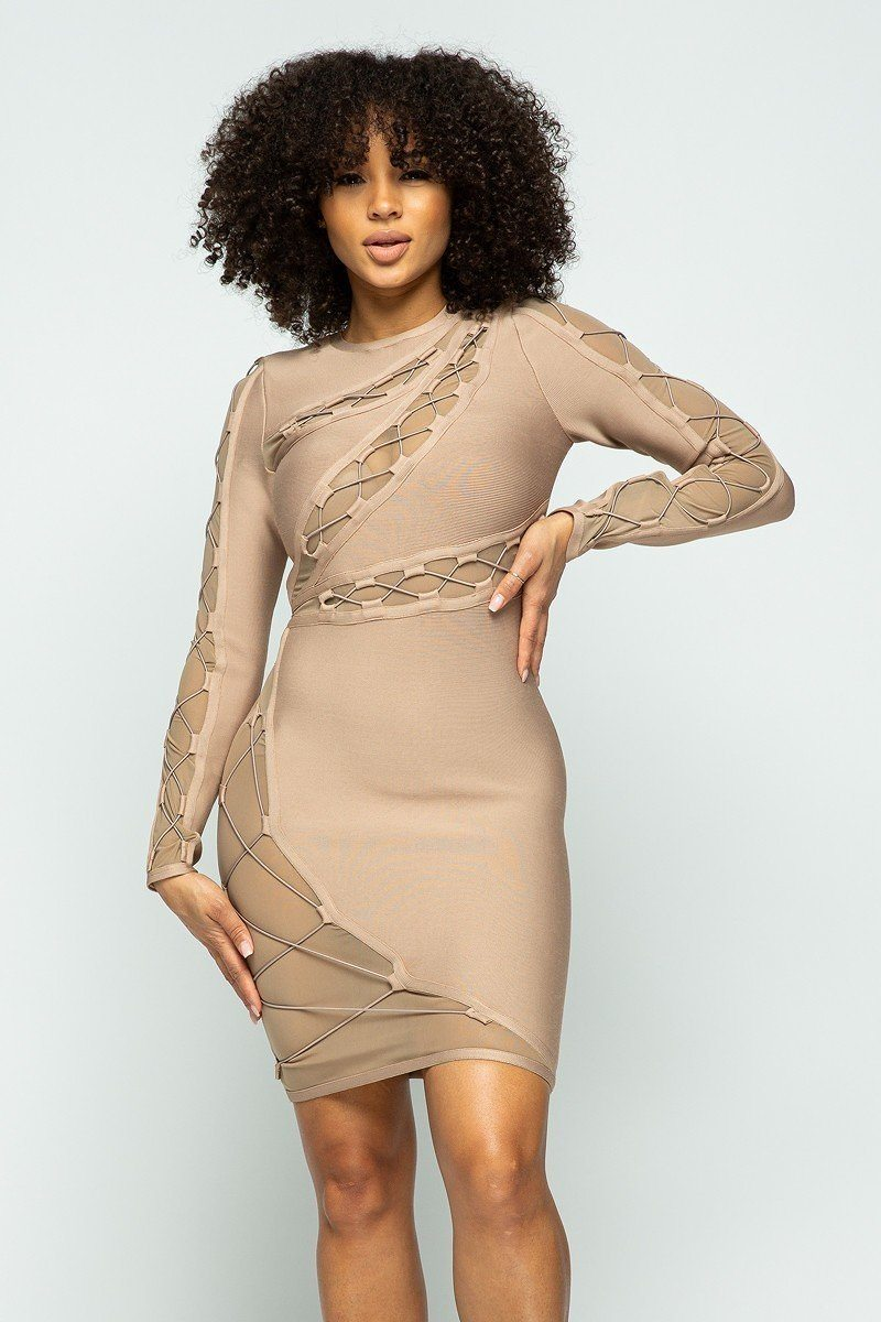 HER Mini Bandage Dress - Allures From Zenii