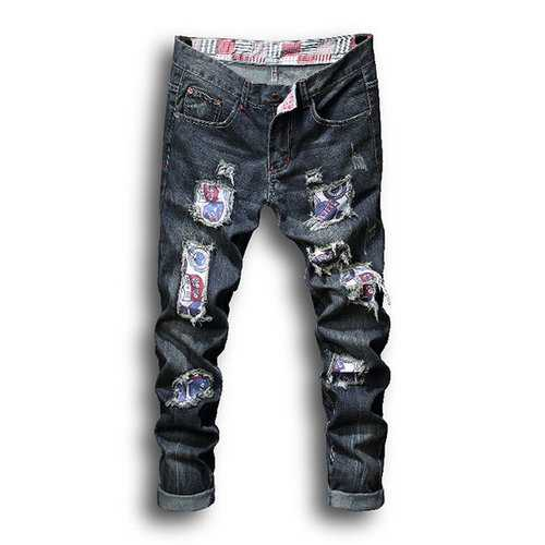 Men Motorcycle Jean
