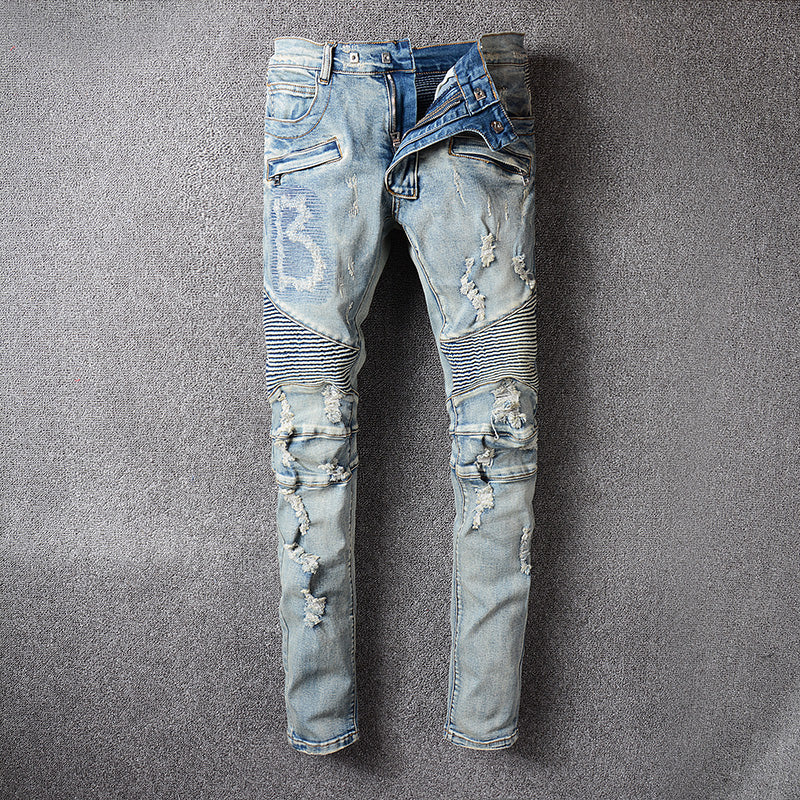 """The Billionaire""  Vintage Denim - Allures From Zenii"
