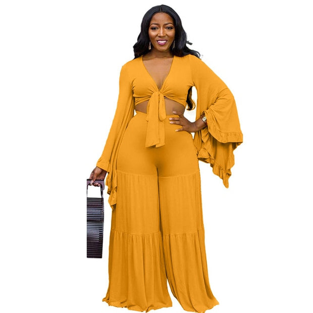 Maria Bell | Mustard Two Piece Set - Allures From Zenii