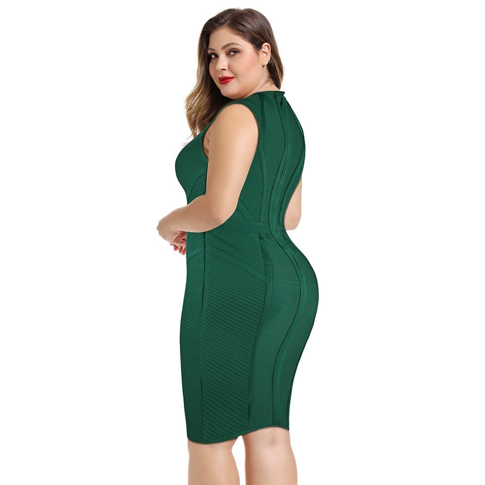 Trudie Plus Size | Bandage Dress - Allures From Zenii