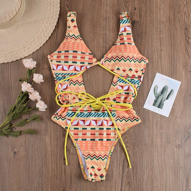 Boho Hollow Out Bikini - Allures From Zenii