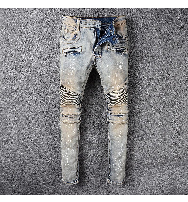 Vintage Painted Denim - Allures From Zenii