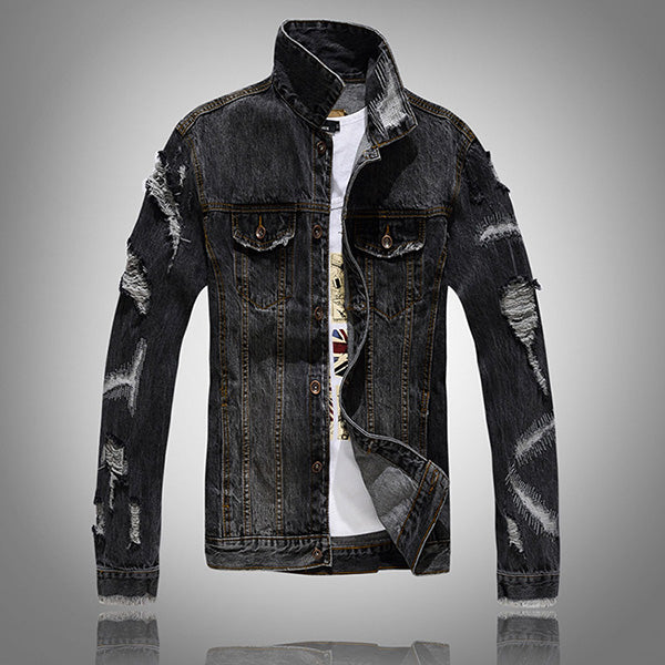 Touch Road | Denim Jacket - Allures From Zenii