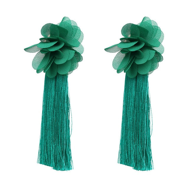 Tassel Boho Earrings - Allures From Zenii