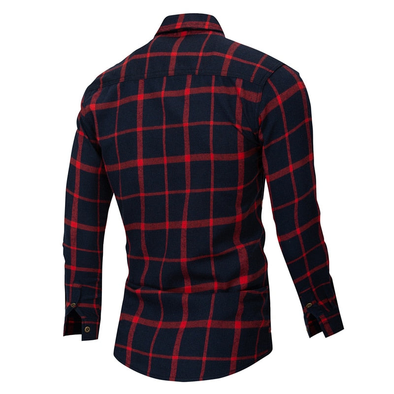 Raymond Plaid Shirt - Allures From Zenii