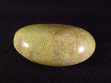 Green Opal Polished Freeform Palmstone - 55g, 52mm