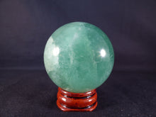 Madagascan Green Fluorite Sphere - 48mm, 183g