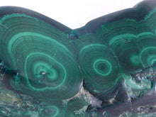Solid Botryoidal Congo Malachite Polished Freeform Piece - 119mm, 456g
