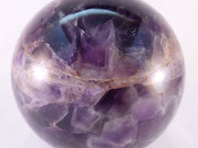 Large Zambian Cellular Amethyst Sphere - 76mm, 587g