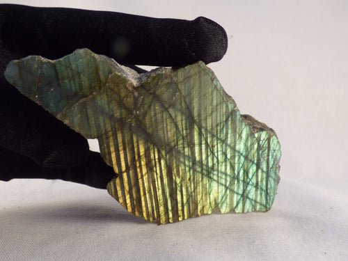 Labradorite Half Polished Piece