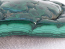 Solid Orbicular 'Bullseye' Congo Malachite Polished Freeform Piece - 101mm, 245g