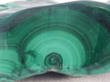 Solid Orbicular Congo Malachite Polished Freeform Piece - 98mm, 317g
