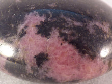 Madagascan Rhodonite Freeform Palm Stone - 61mm, 161g