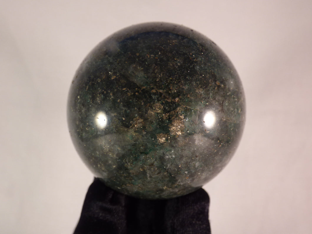 Green Fuchsite Sphere - 60mm, 308g