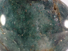 Brown Green Fuchsite Freeform Palm Stone - 50mm, 73g