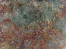 Brown Green Fuchsite Freeform Palm Stone - 48mm, 73g