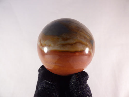 Small Polychrome Jasper Sphere - 46mm, 132g