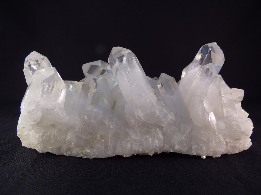 Large Natural Madagascan White Quartz Cluster - 146mm, 907g