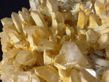 Large Natural Madagascan Golden Limonite Quartz Cluster - 153mm, 1153g