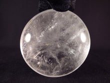 Large Madagascan Clear Quartz Freeform Palm Stone - 60mm, 133g