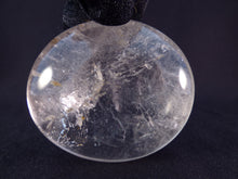 Large Madagascan Clear Quartz Freeform Palm Stone - 64mm, 136g