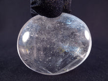 Madagascan Clear Quartz Freeform Palm Stone - 56mm, 75g