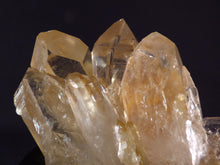 Natural Congo Pale Citrine Crystal Cluster - 84mm, 242g