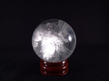 Small Madagascan Clear Quartz Sphere - 43mm, 109g