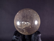 Small Madagascan Smokey-Tinted Clear Quartz Sphere - 44mm, 119g