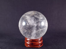 Madagascan Clear Quartz Sphere - 45mm, 125g