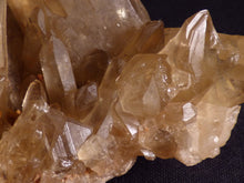 Natural Congo Long-Fingered Golden Citrine Crystal Cluster - 139mm, 218g