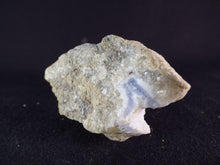 Natural Blue Lace Agate Geode - 70mm, 115g