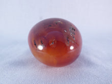 Madagascan Carnelian Freeform Palm Stone - 49mm, 108g