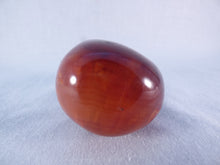 Madagascan Carnelian Freeform Palm Stone - 61mm, 114g