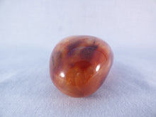 Madagascan Carnelian Freeform Palm Stone - 72mm, 156g