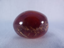 Large Madagascan Carnelian Freeform Palm Stone - 60mm, 161g