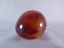 Madagascan Carnelian Freeform Palm Stone - 54mm, 138g