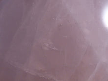 Large Rose Quartz Freeform Palm Stone - 72mm, 223g