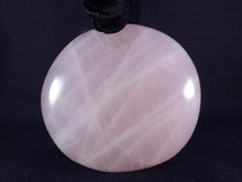 Large Rose Quartz Freeform Palm Stone - 80mm, 313g