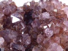 Natural South African Sparkling Amethyst Plate - 60mm, 56g