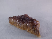 Natural South African Sparkling Amethyst Plate - 89mm, 82g