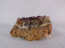 Natural South African Sparkling Amethyst Plate - 70mm, 122g