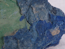 Natural Congo Azurite & Malachite Plate Specimen - 74mm, 45g